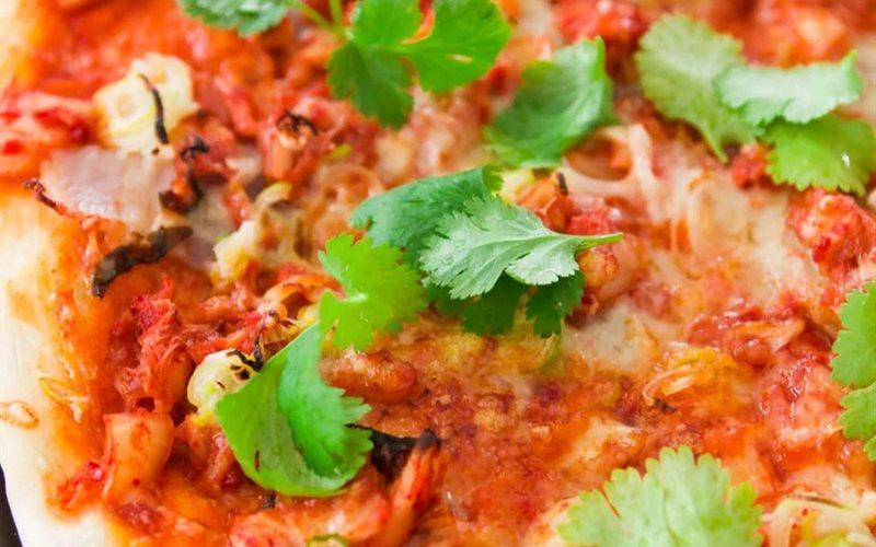 Cách Làm Bánh Pizza Kim Chi Lạ Miệng Ngon Cực Đỉnh
