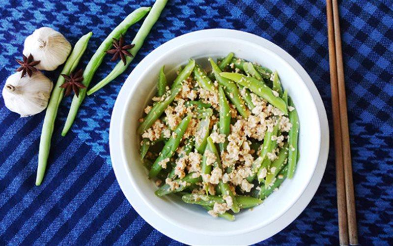 Cách Làm Salad Đậu Que Giòn Mát Hấp Dẫn Mời Cả Nhà