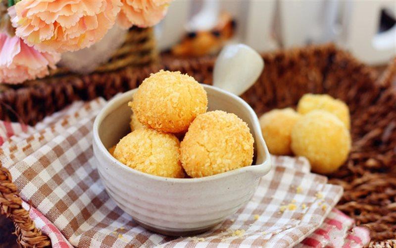 Cách làm Bánh Dừa Nướng Xốp Giòn ăn vặt cực kỳ đã ghiền