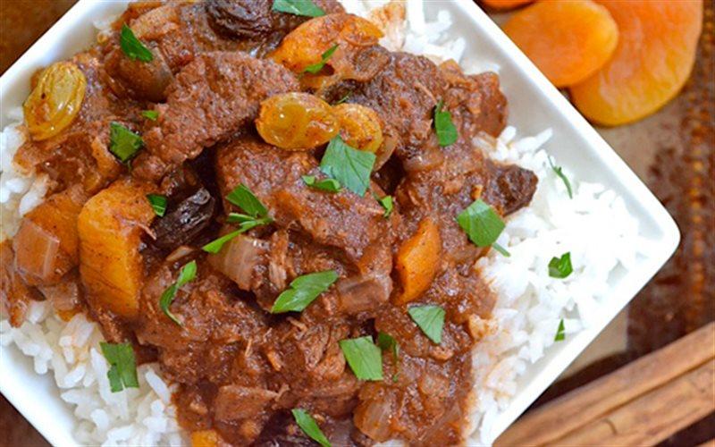 Cách Làm Cơm Trộn Sốt Thịt Bò Morocco Thơm Ngon