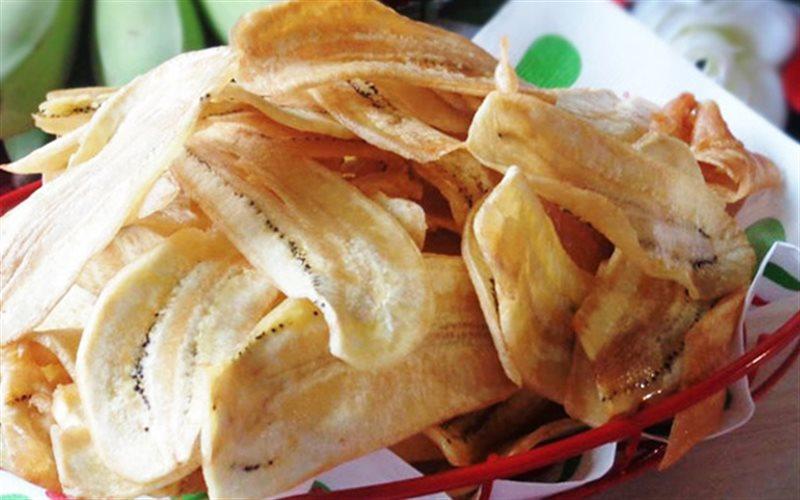 Cách Làm Snack Chuối Để Dành Nhâm Nhi Cực Kỳ Ngon