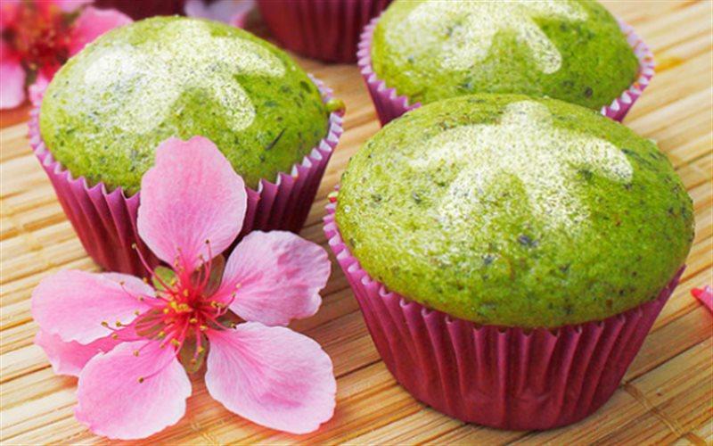 Cách làm Bánh Cupcake Hương Trà Xanh thơm ngon mời cả nhà