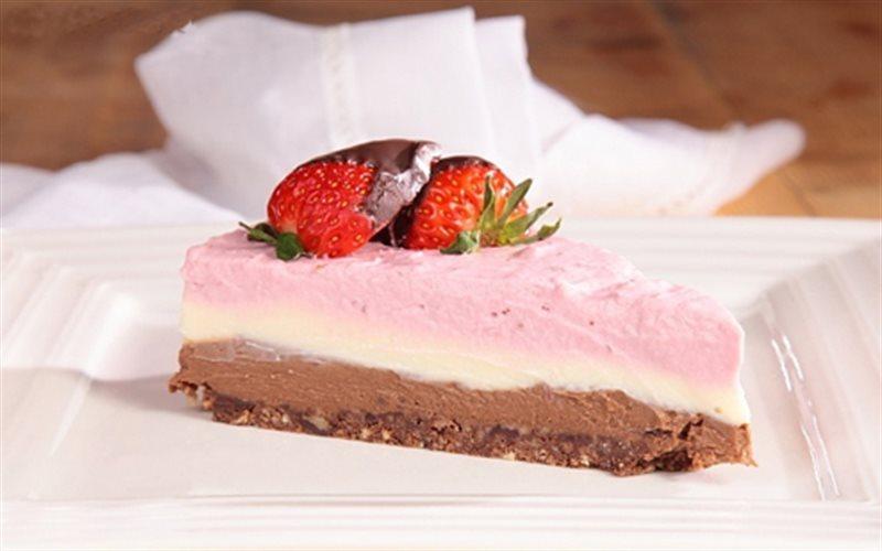 Cách làm Cheesecake 3 Màu thơm ngon, cho bé ăn vặt