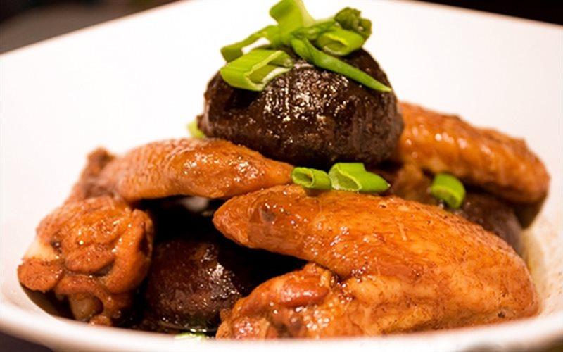 Cách Làm Cánh Gà Sốt Nấm Đông Cô Ăn Cơm Cực Ngon