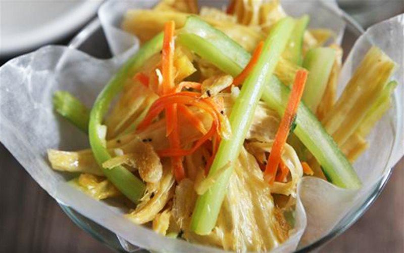 Cách Làm Salad Váng Đậu Làm Món Khai Vị Cực Ngon