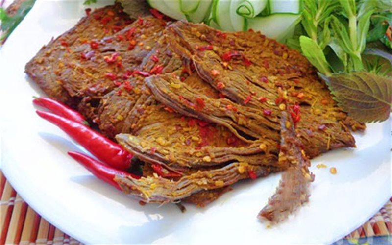Cách làm thịt bò khô cay nồng