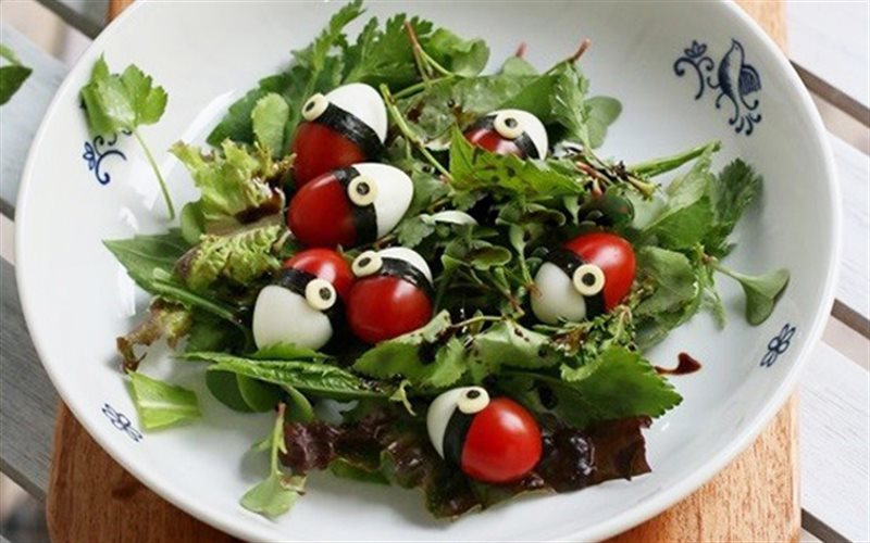 Cách Làm Salad Trứng Cút Cà Chua Bi Ngon Lành