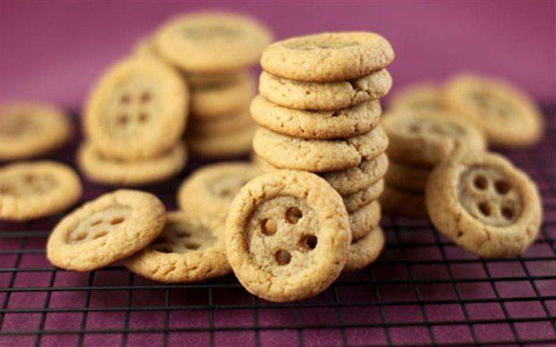 Cách Làm Bánh Cookies Hình Cúc Áo Để Dành Ăn Vặt
