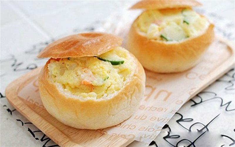 Cách Làm Bánh Mì Kiểu Ấm Trà Đẹp Mắt Thơm Ngon