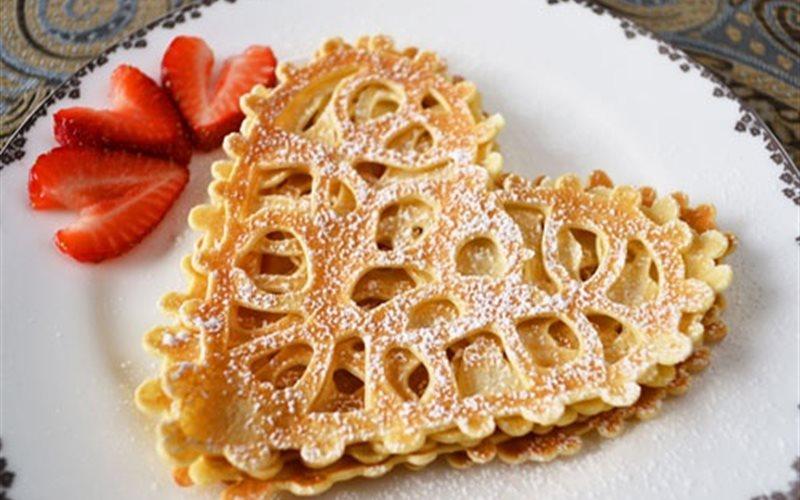 Cách Làm Bánh Crepe Trái Tim Vừa Ngon Vừa Bắt Mắt