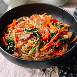 Miến trộn thịt kiểu Hàn