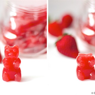 Cách làm kẹo dẻo hình gấu an toàn cho bé yêu