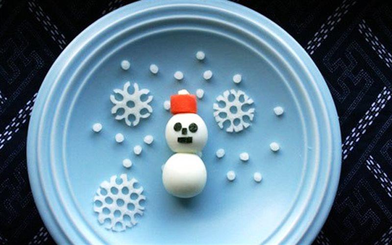 Cách Làm Trứng Cút Người Tuyết Dễ Thương Cho Trẻ