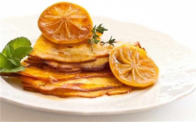 Cách Làm Pancake Sốt Caramel Chanh, Cực Thơm Ngon