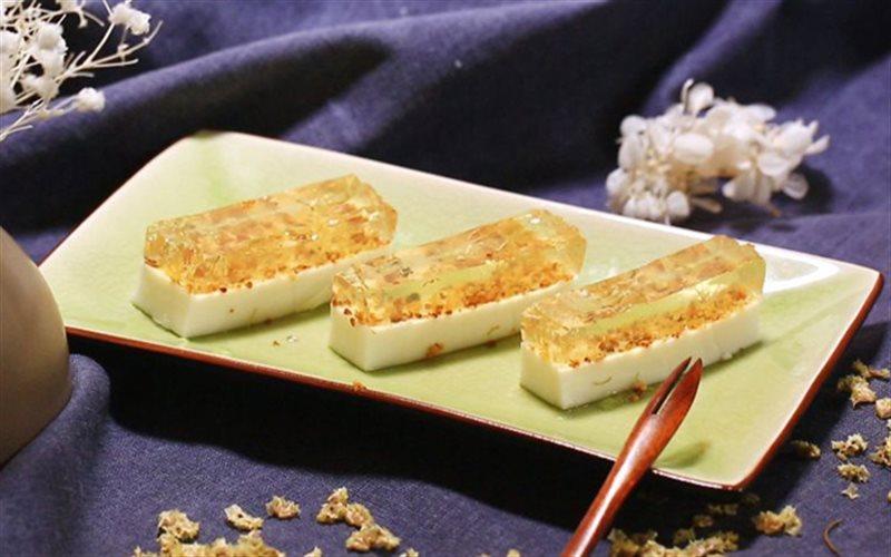 Cách Làm Thạch Sữa Dừa Hoa Mộc Giòn Ngon, Hấp Dẫn