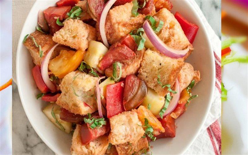 Cách Làm Salad Bánh Mì Giòn Giòn, Ăn Rất Thích