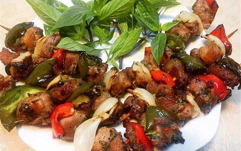 Cách làm Thịt Xiên Rau Củ Nướng đơn giản cho bữa tiệc
