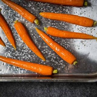 Cách làm Cà rốt nướng