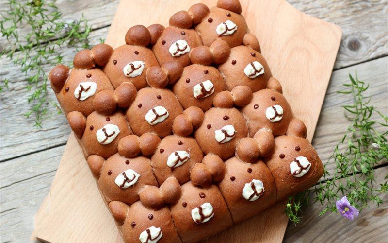 Cách Làm Bánh Mì Gấu Vừa Đẹp Mắt, Vừa Hấp Dẫn