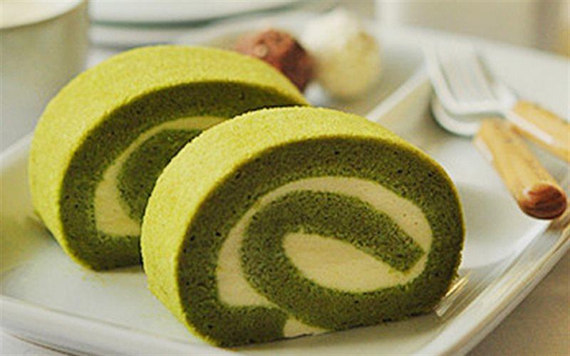 Cách Làm Bánh Cuộn Vị Trà Xanh Thơm Lừng, Cực Ngon