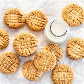 Cách làm Bánh cookies bơ đậu phộng nướng