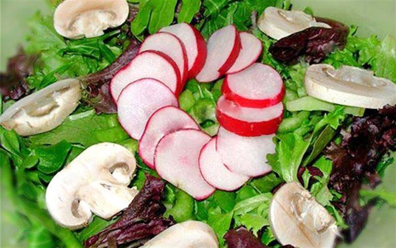 Cách Làm Salad Nấm Với Củ Cải Thanh Mát, Dễ Ăn