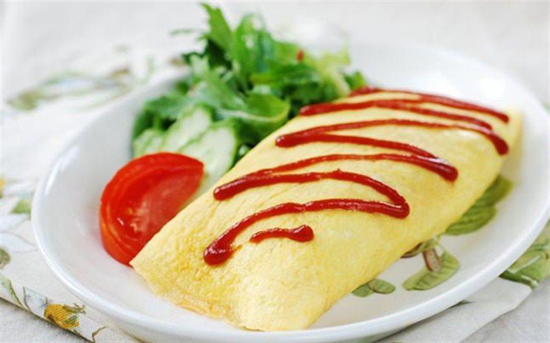 Cách làm trứng cuộn cơm chiên Hàn Quốc
