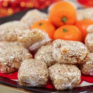 Cách làm kẹo đậu phộng mè