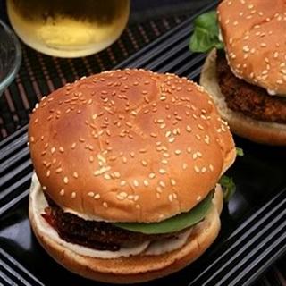 Cách làm Bánh hamburger đậu hũ