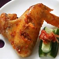 Cánh gà ướp kimchi nướng