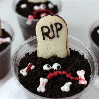 Cách Làm Pudding Nghĩa Địa Độc Đáo Ngày Halloween