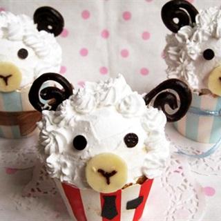 Bánh cupcake cho cung Bạch Dương