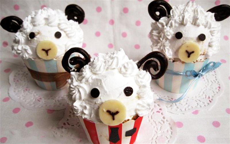 Cách Làm Bánh Cupcake Cho Cung Bạch Dương Đơn Giản
