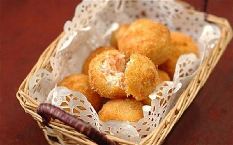 Cách làm Bánh Gà Chiên Xù tuyệt phẩm ăn vặt cực kỳ ngon