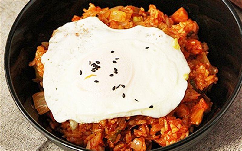 Cách Làm Cơm Chiên Kimchi Cay Ngon, Cực Hấp Dẫn