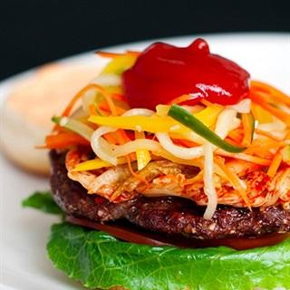 Cách làm Hamburger kiểu Hàn Quốc