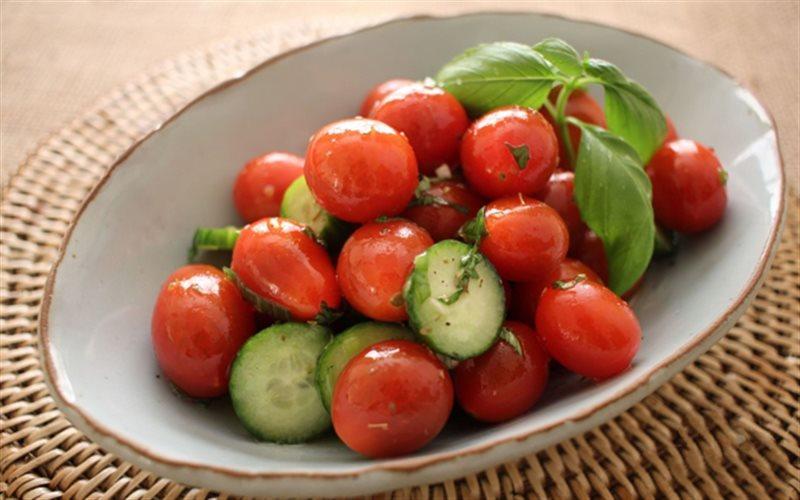 Cách Làm Salad Dưa Leo Cà Chua Bi Ngon, Giòn Ngọt