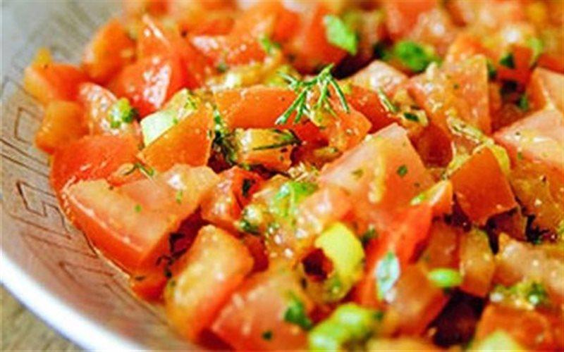 Cách Làm Salad Cà Chua Kiểu Ma Rốc Ngon Miệng