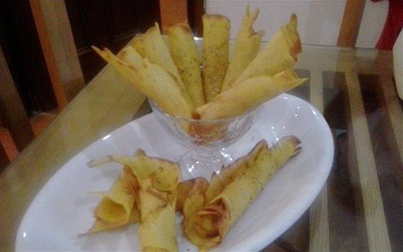 Cách làm Bánh Quế Giòn bằng chảo, đơn giản tại nhà