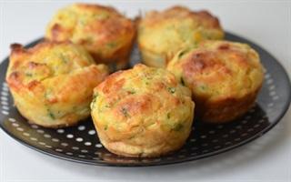 Bánh muffin rau củ