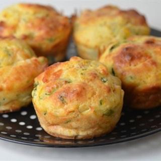 Cách Làm Bánh Muffin Rau Củ Thơm Ngon Bổ Dưỡng