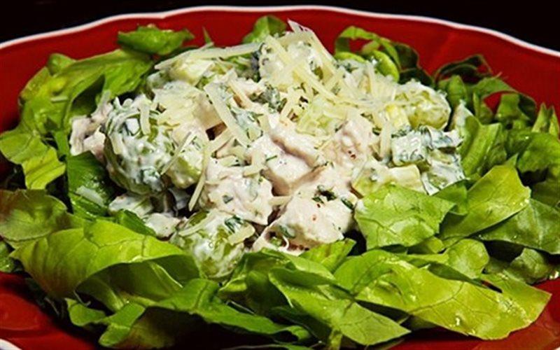 Cách Làm Salad Nho Thịt Gà Ngon, Cực Đơn Giản