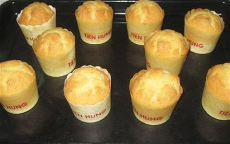 Cách làm Bánh Muffin thơm ngon, hấp dẫn cho cả nhà