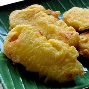 Bánh chuối dầu dừa