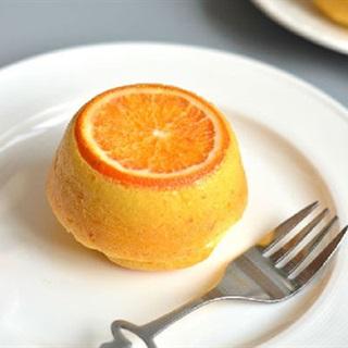 Bánh cupcake cam tươi nướng