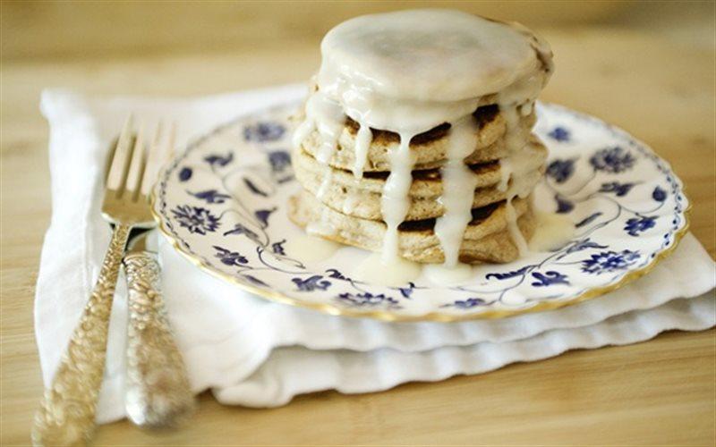 Cách làm Pancake Quế cho một buổi sáng đầy đủ năng lượng