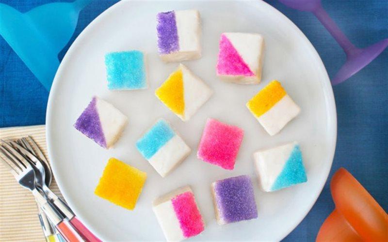 Cách làm Bánh Bông Lan Sắc Màu xốp mềm thơm ngon cho bé