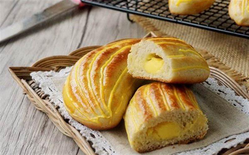 Cách Làm Bánh Bông Lan Chuối Nhân Kem | Thơm Ngon