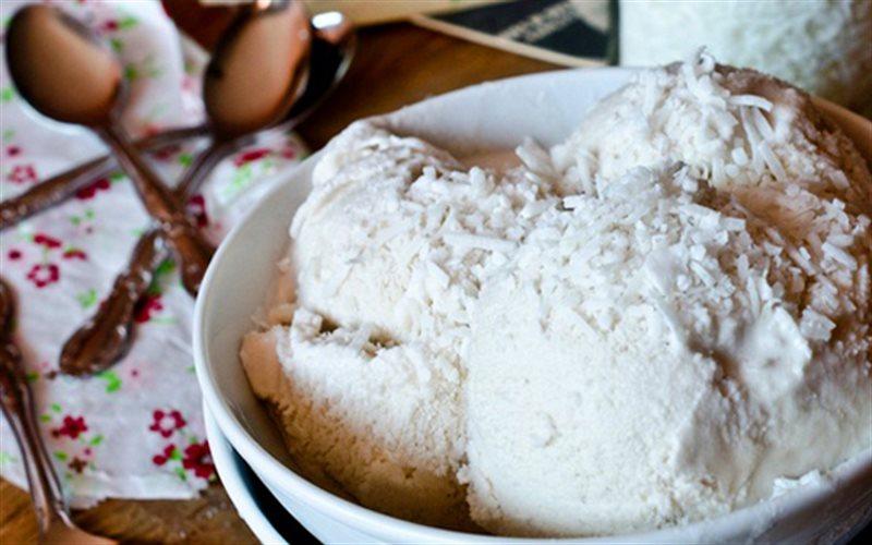 Cách làm Kem Dừa Mix Trái Cây mát lạnh cực ngon lành