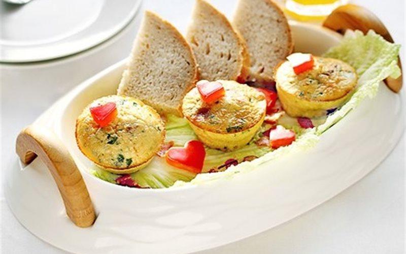 Cách Làm Trứng Muffin Đáng Yêu Hấp Dẫn Mời Cả Nhà